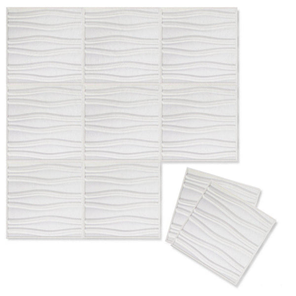 Swell 3D PET Felt Wall Flats - Felt 3D Wall Flats - Acoustic Panels - 1 - Inhabit