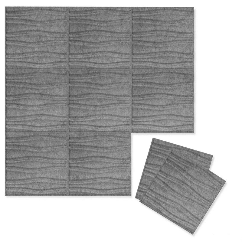Felt 3D Wall Flats - Acoustic Panels - Swell 3D PET Felt Wall Flats - 4 - Inhabit
