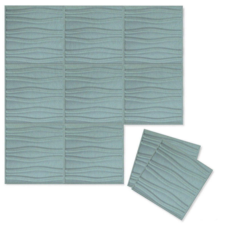 Felt 3D Wall Flats - Acoustic Panels - Swell 3D PET Felt Wall Flats - 8 - Inhabit