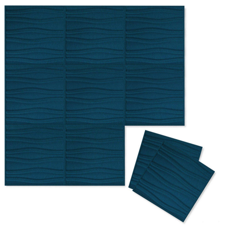 Felt 3D Wall Flats - Acoustic Panels - Swell 3D PET Felt Wall Flats - 10 - Inhabit