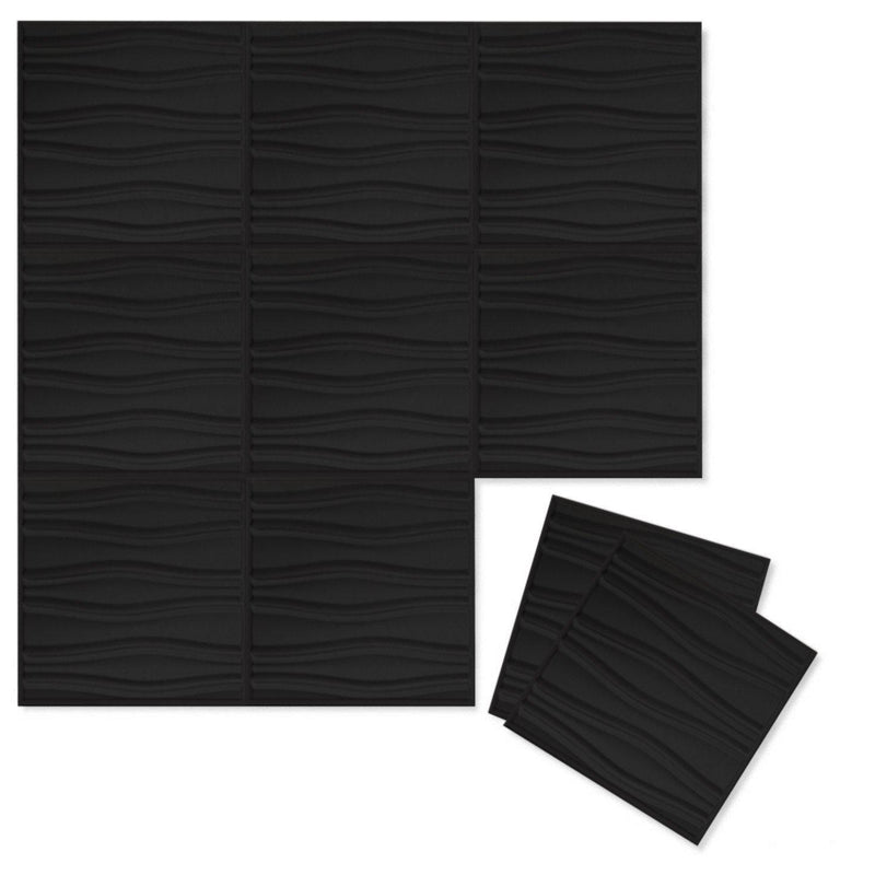 Felt 3D Wall Flats - Acoustic Panels - Swell 3D PET Felt Wall Flats - 13 - Inhabit