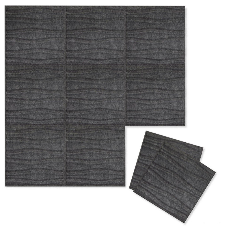 Felt 3D Wall Flats - Acoustic Panels - Swell 3D PET Felt Wall Flats - 6 - Inhabit