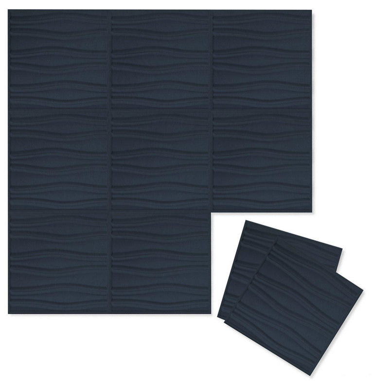 Felt 3D Wall Flats - Acoustic Panels - Swell 3D PET Felt Wall Flats - 12 - Inhabit