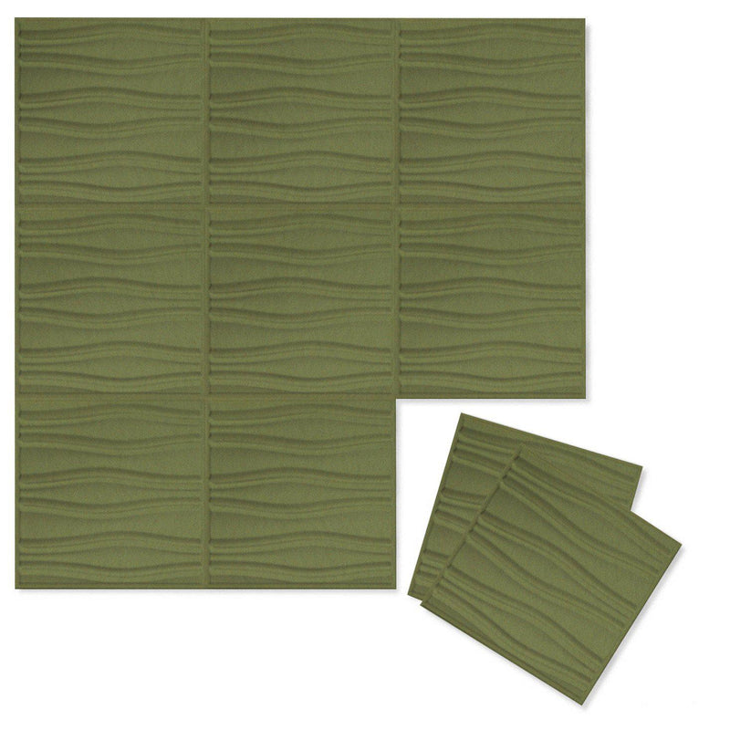 Felt 3D Wall Flats - Acoustic Panels - Swell 3D PET Felt Wall Flats - 7 - Inhabit