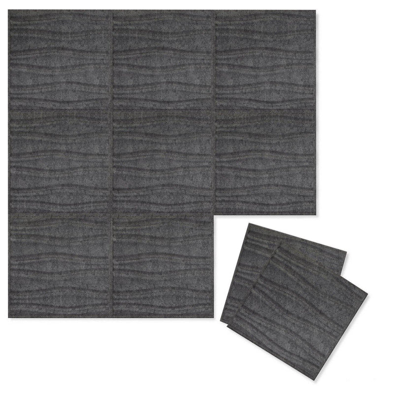 Felt 3D Wall Flats - Acoustic Panels - Swell 3D PET Felt Wall Flats - 5 - Inhabit