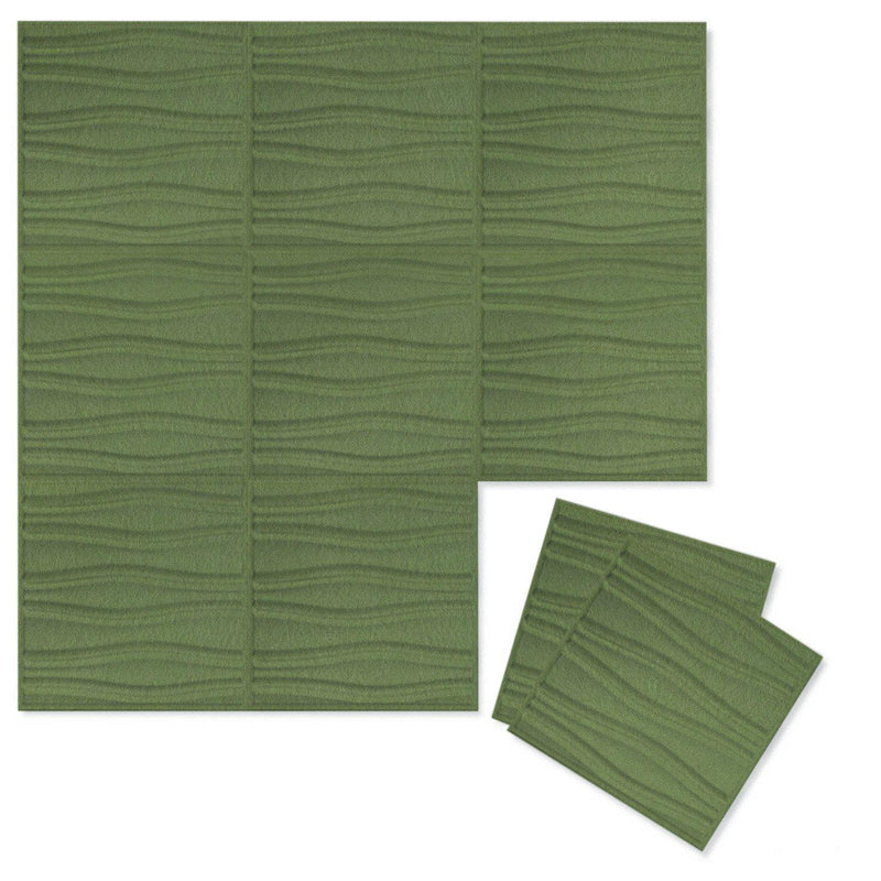 Felt 3D Wall Flats - Acoustic Panels - Swell 3D PET Felt Wall Flats - 11 - Inhabit