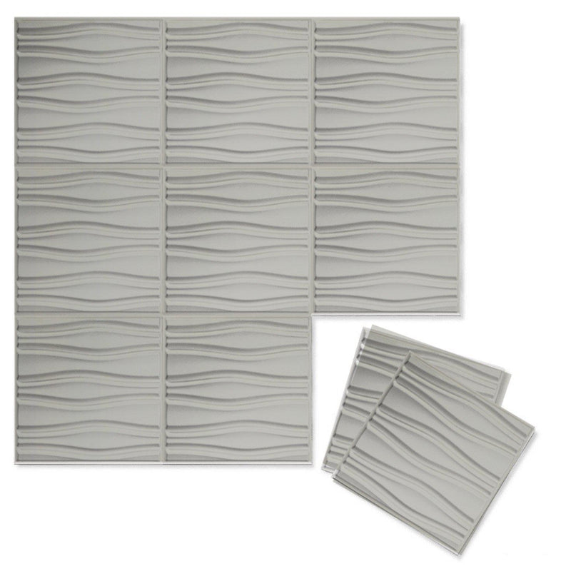 Luxe Supermatte Wall Flats - 3D Wall Panels - Swell 3D Supermatte Wall Flats - 8 - Inhabit