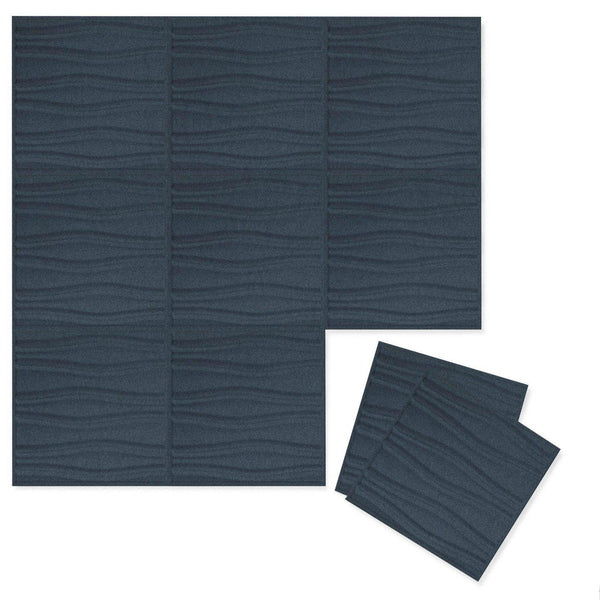 Felt 3D Wall Flats - Acoustic Panels - Swell 3D Wool Felt Wall Flats - 1 - Inhabit