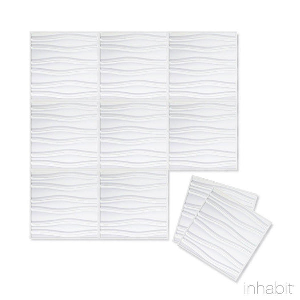Wall Flats - 3D Wall Panels - Swell Wall Flats - 2 - Inhabit