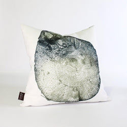 Handmade Pillows - Wood Cut 2 Throw Pillow - 1 - Inhabit