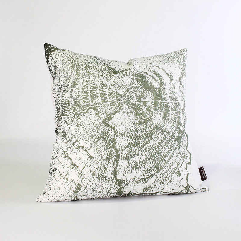 Handmade Pillows - Wood Cut 2 Throw Pillow - 3 - Inhabit