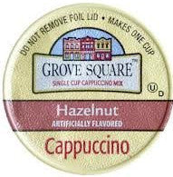 Grove Square Hazelnut Cappuccino - Coffee Crazy