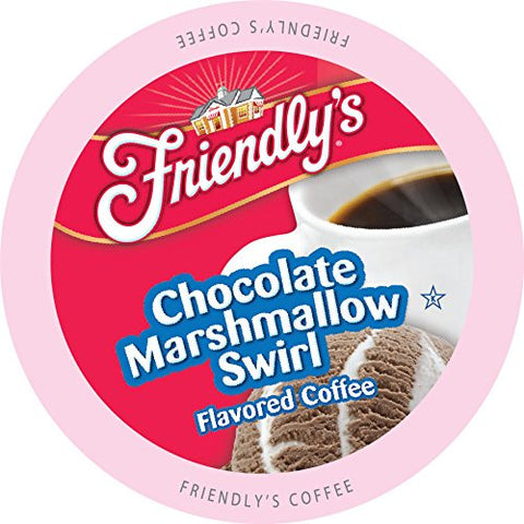 Friendly's Chocolate Marshmallow Swirl