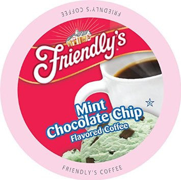 Friendly's Mint Chocolate Chip - Coffee Crazy