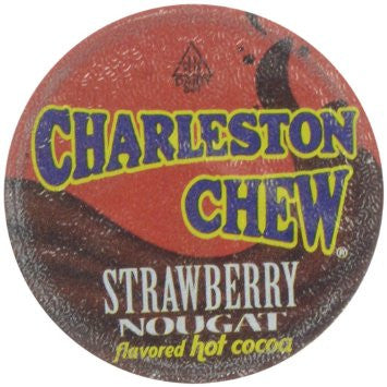 Charleston Chew Strawberry Hot Chocolate