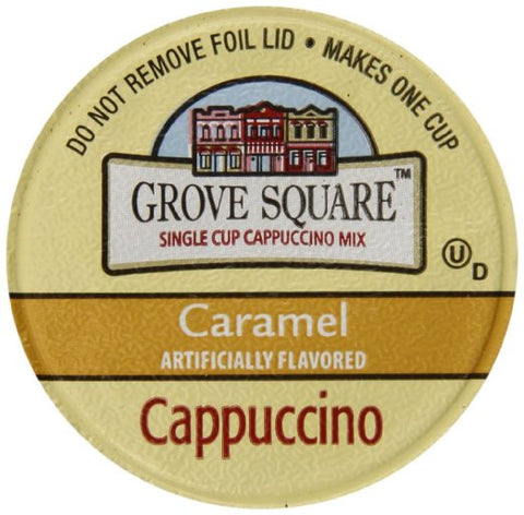 Grove Square Carmel Cappuccino - Coffee Crazy