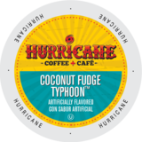 Hurricane Coconut Fudge Tpyhoon - Coffee Crazy