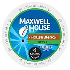 Maxwell House Decaf - Coffee Crazy