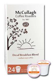 McCullagh Breakfast Blend Decaf - Coffee Crazy
