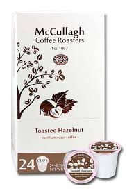 McCullagh Toasted Hazelnut - Coffee Crazy