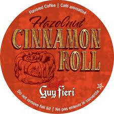 Guy Fieri Hazelnut Cinnamon Roll - Coffee Crazy