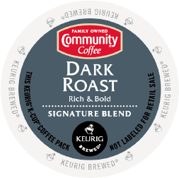 Community Coffee Dark Roast 18ct - Coffee Crazy