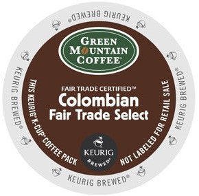 Green Mountain Fair trade Colombian - Coffee Crazy