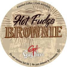 Guy Fieri Hot Fudge Brownie - Coffee Crazy