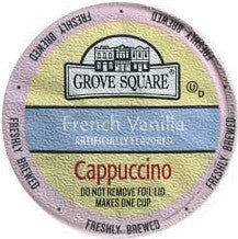 Grove Square French Vanilla Cappuccino - Coffee Crazy