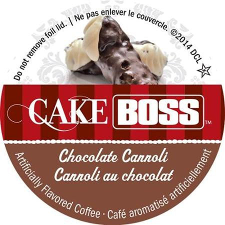 Cake Boss Choclate Cannoli - Coffee Crazy