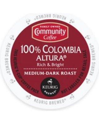 Community Coffee 100% Colombia Altura - Coffee Crazy