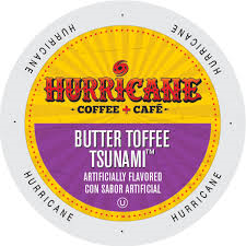 Hurricane Butter Toffee Tsunami - Coffee Crazy