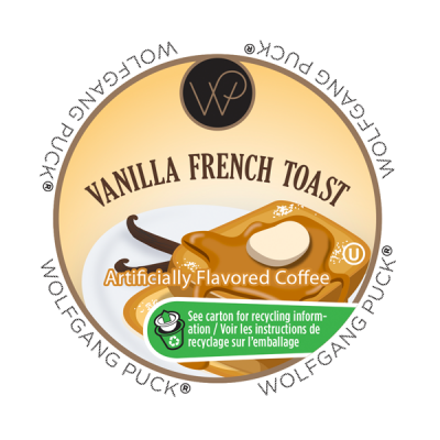 Wolfgang Puck Vanilla French Toast - Coffee Crazy