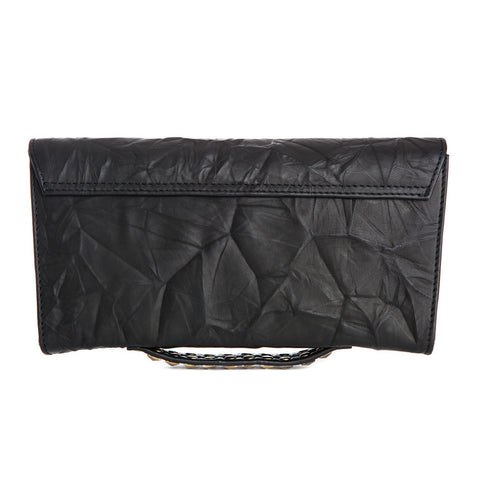 COUNTESS Studded Cross Body Clutch
