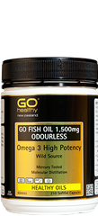 Go Healthy Fish Oil 1500mg 210 Capsules
