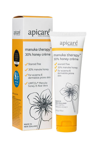 APICARE Manuka Therapy 30% Honey Cream 50g