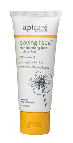 APICARE Saving Face Moisturiser 70ml