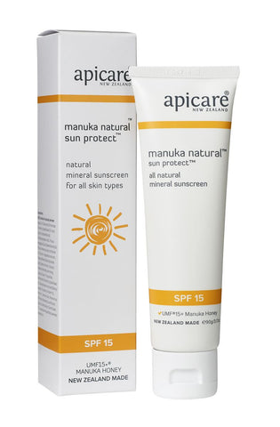 APICARE Manuka Natural SPF15 Face Cream 90g
