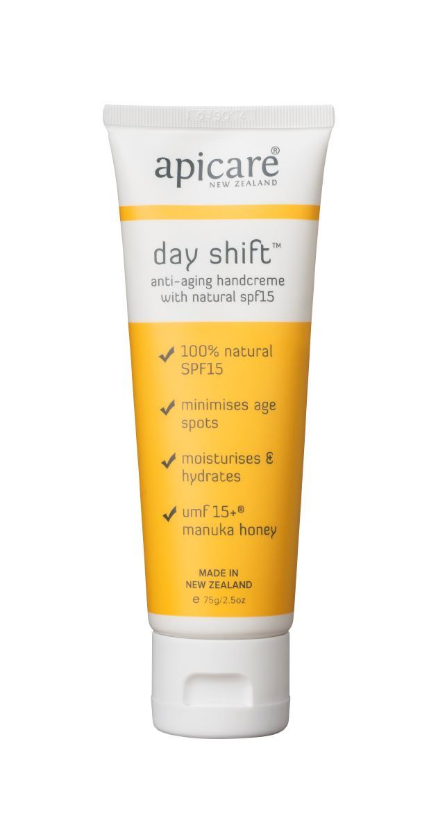 APICARE Day Shift SPF15 Hand Cream 75g