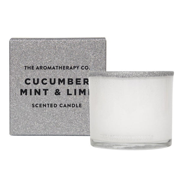 AROMATHERAPY Cucumber, Mint & Lime Candle 100g