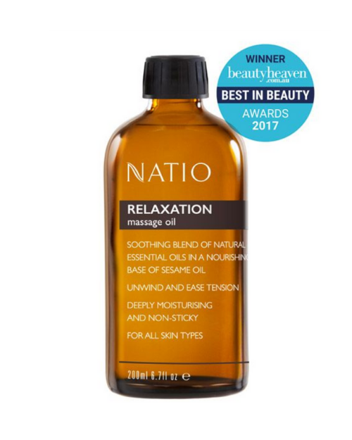 NATIO Massage Oil 200ml
