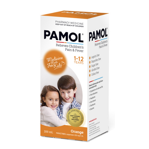 PAMOL All Ages Orange 200ml