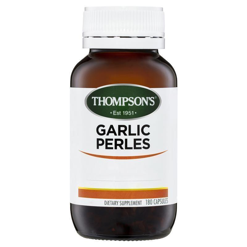 THOMPSONS Garlic Perles 180caps