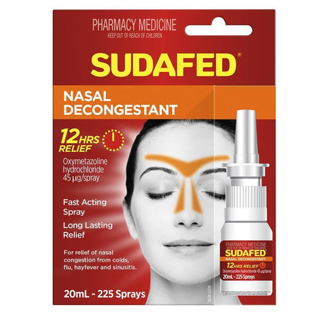 SUDAFED Nasal Spray 20ml