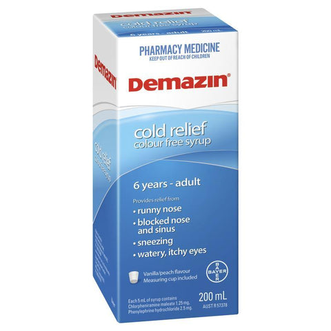 Demazin Clear Syrup 200ml