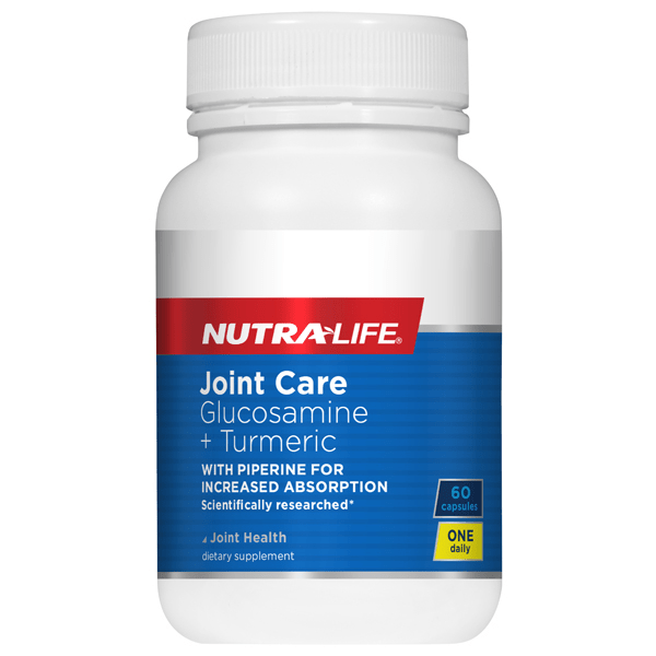 NUTRALIFE Joint Care Glucosamine +Turmeric 60caps