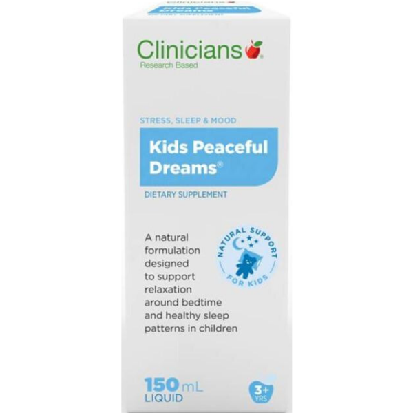 CLINICIANS Kids Peaceful Dreams 150ml Liquid