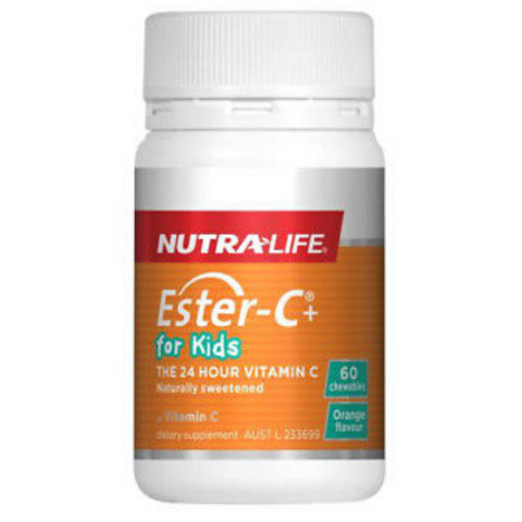 NUTRALIFE Ester-C+ For Kids 60tabs
