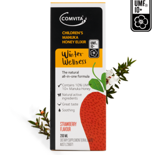COMVITA Child Manuka Elixir Strawberry 200ml