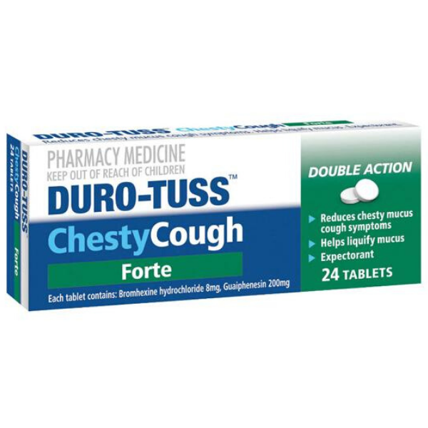 DURO-TUSS Chesty Forte 24tabs
